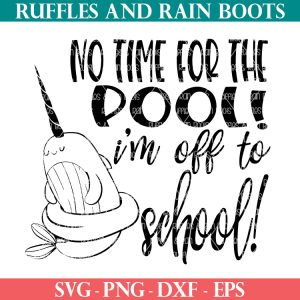 free narwhal svg from ruffles and rain boots