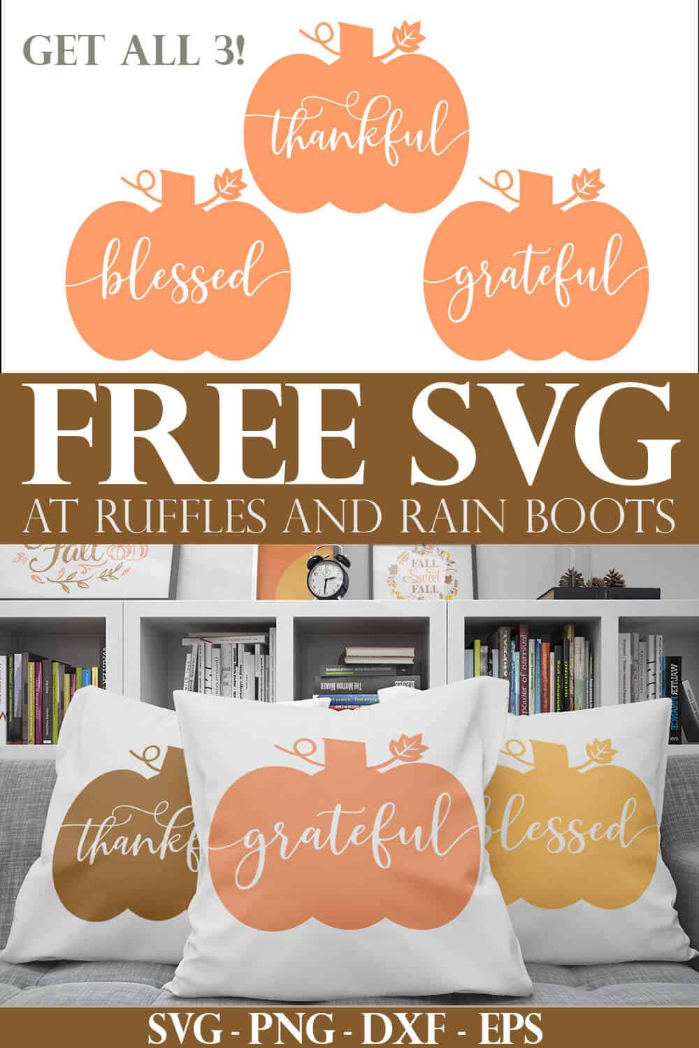 Get Crafty This Fall With This Pumpkin Svg And Cut File Set