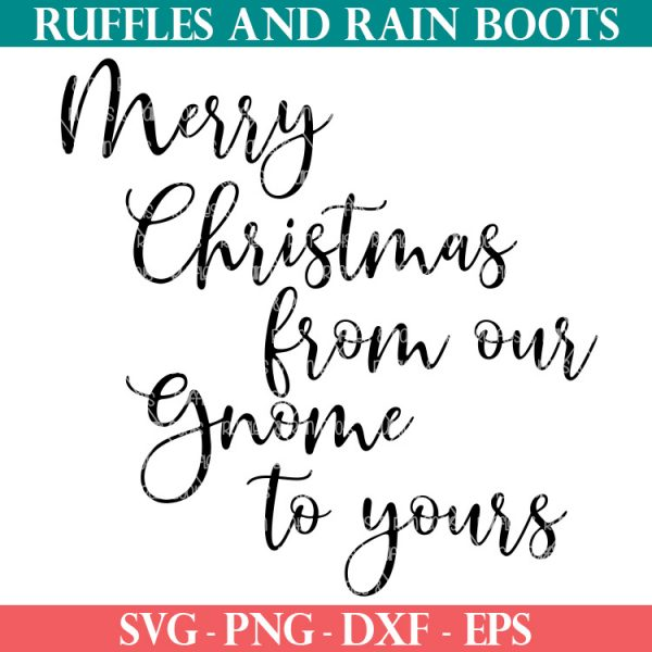 from our gnome to yours SVG