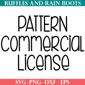 pattern commercial use