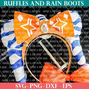 Ahsoka Mickey Ears on a black table