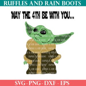 baby yoda svg set for May the 4th be with you