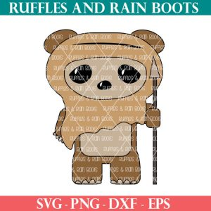 Ewok SVG Set for May the 4th Be With You