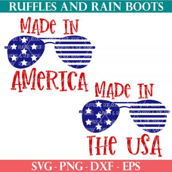 free 4th of july svg made in america made in usa
