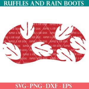 Lilo eye Mask cut file set for cricut or silhouette