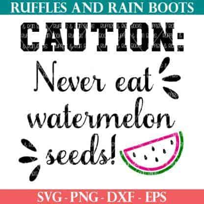 caution never eat watermelon seeds cut file for pregnancy