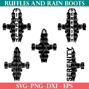 free serenity svg collection for firefly fans from ruffles and rain boots