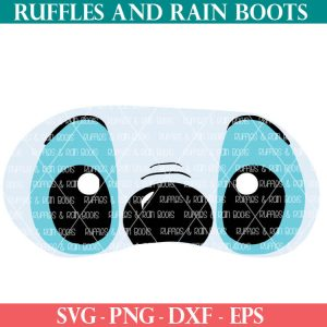 Stitch Mask SVG Cut Files for Cricut or Silhouette