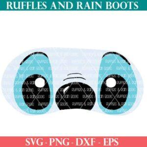 Stitch Mask SVG Cut Files for Cricut or Silhouette