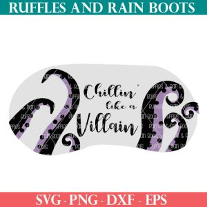 Ursula mask cut file for crafts