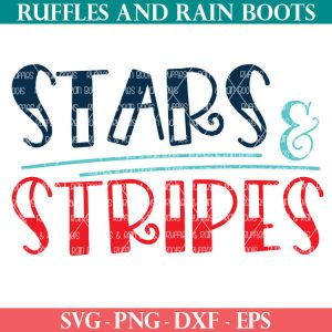 red white blue and teal stars and stripes svg from ruffles and rain boots