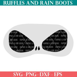 Jack Skellington Mask cut file set for cutting machines