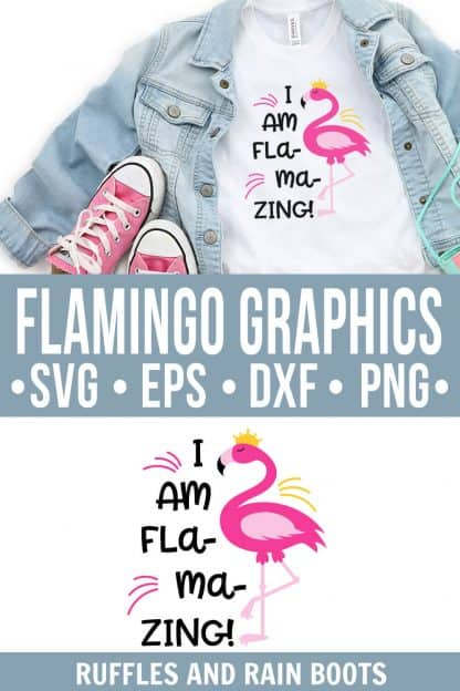photo collage of adorable flamingo svg I am flamazing cut file clipart with text which reads flamingo graphics svg eps dxf png