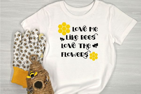 Bee Love SVG file set for cricut or silhouette