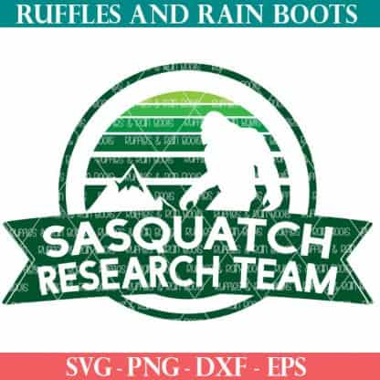 Sasquatch file set for sublimation