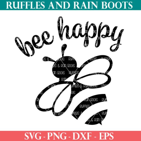 bee cut file For summer crafts