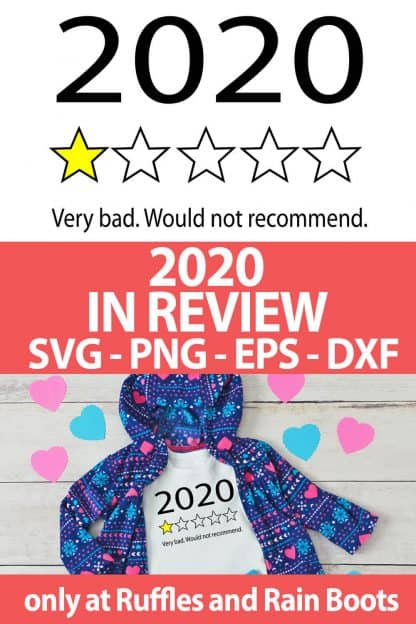 photo collage of funny photo collage of 2020 bad review cut file set