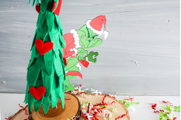 Grinch Tree Craft cut file set