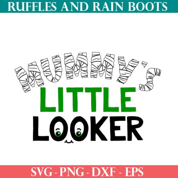 Mummy's LIttle Looker cut file set for cricut or silhouette