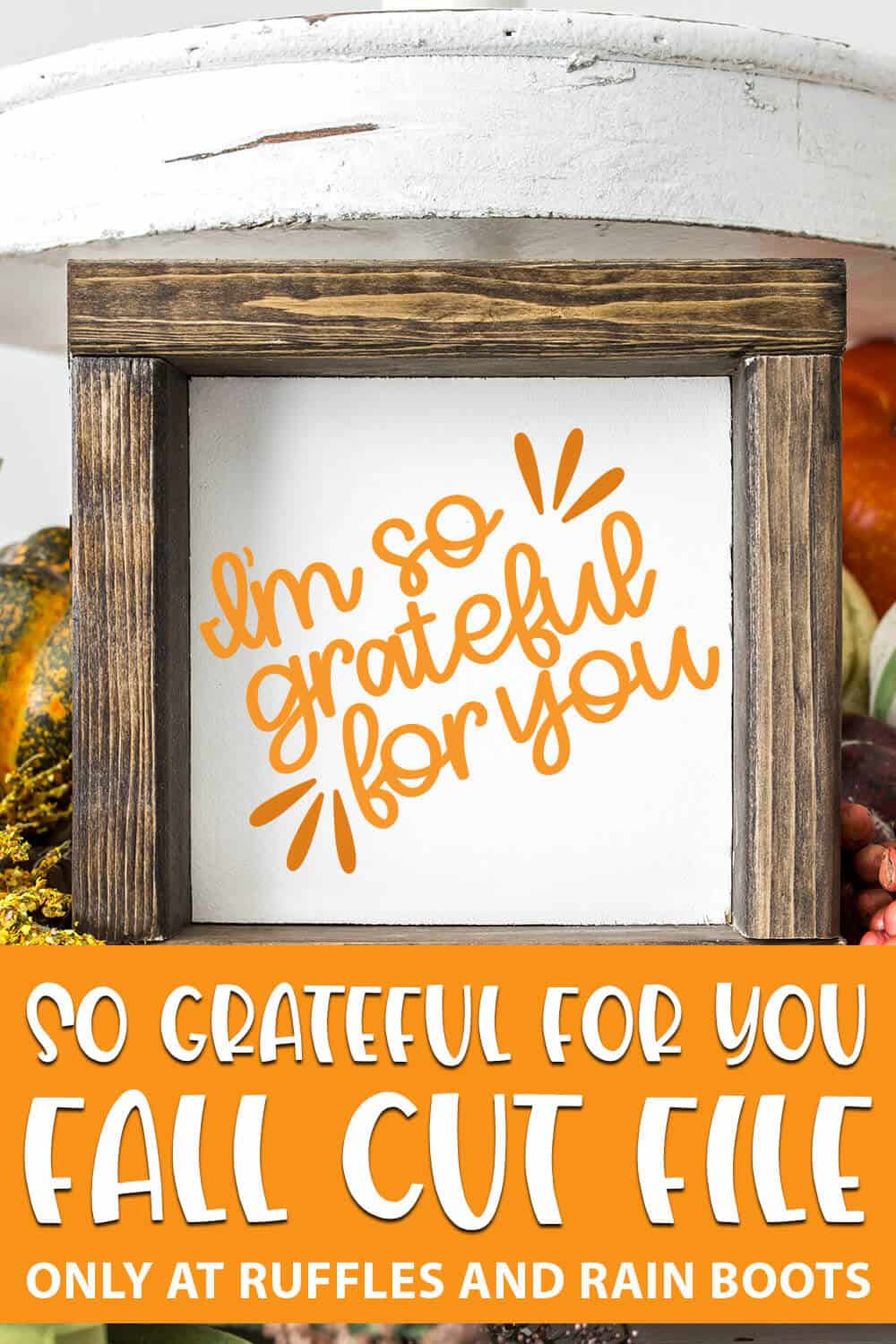 grateful fall svg for cutting machines with text which reads so grateful for you fall cut file