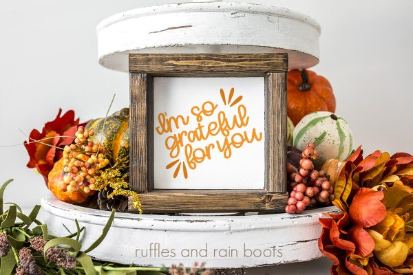 fall thanksgiving grateful cut file set for cricut or silhouette