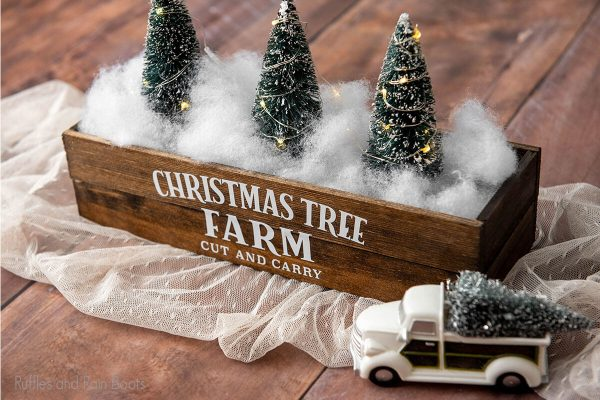 Christmas Tree Farm Cut File for christmas crafts