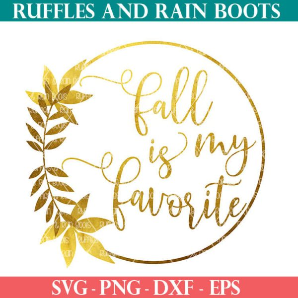 Fall Foil Sublimation file