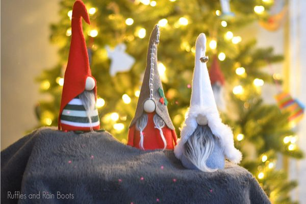 free gnome pattern cut file set for cricut or silhouette