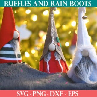 three free gnome patterns in one
