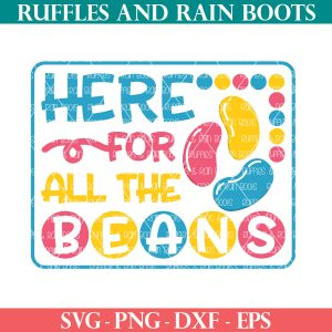 easter svg here for the jelly beans cut file