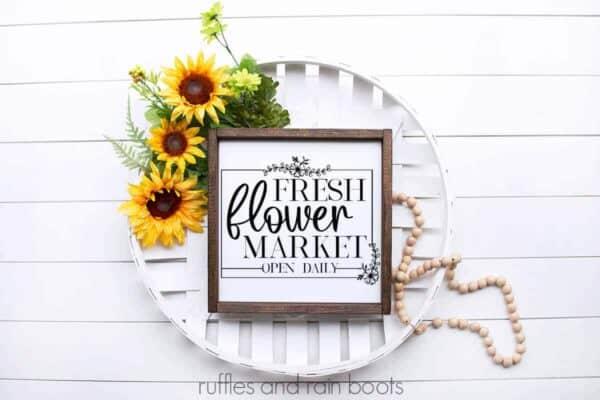 flower svg for fresh flower market design