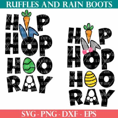 hip hop hooray easter svg