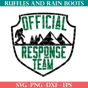 official response team big foot svg