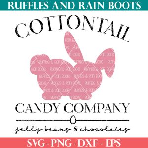 cottontail candy co SVG Easter shop