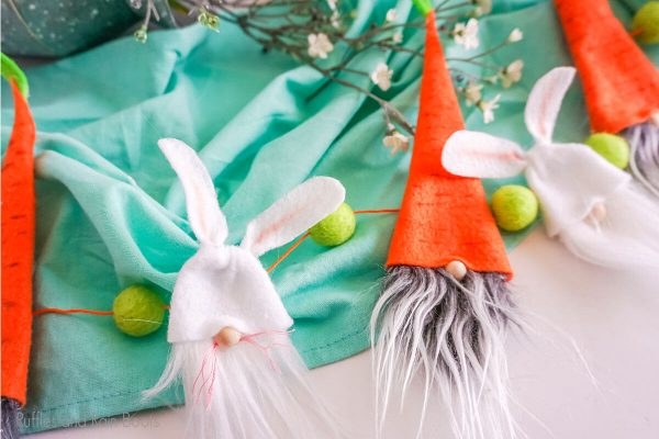 Easter Gnome Garland cut file set for cricut or silhouette