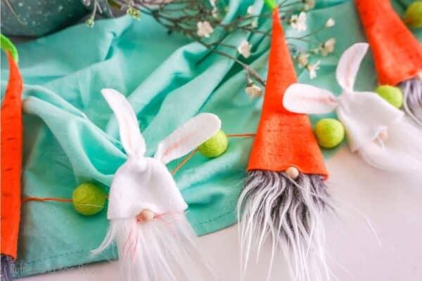 No-Sew Easter Gnome Garland Pattern set