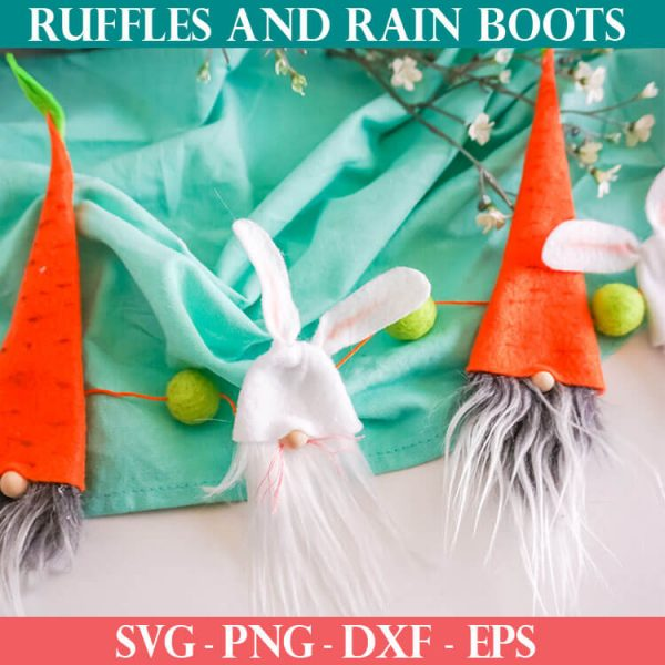 No-Sew Gnome Pattern for an Easter Garland
