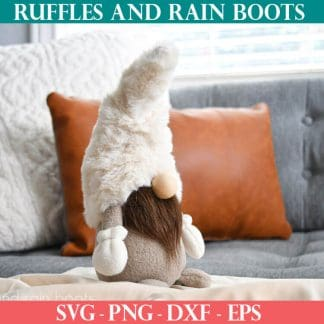 sewing pattern for gnomes