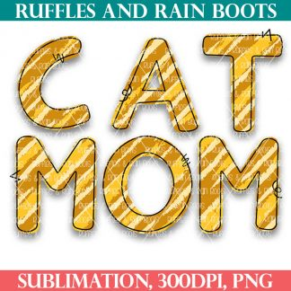 animal print free sublimation file cat mom from ruffles and rain boots