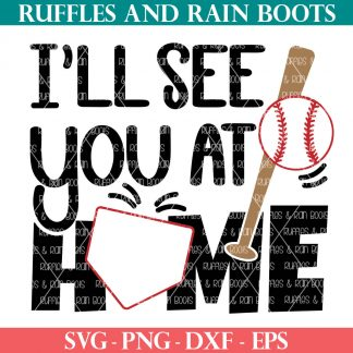 premium baseball svg with offset home base from ruffles and rain boots