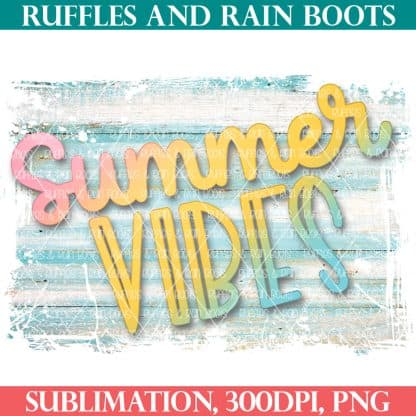summer vibes sublimation free from ruffles and rain boots shop