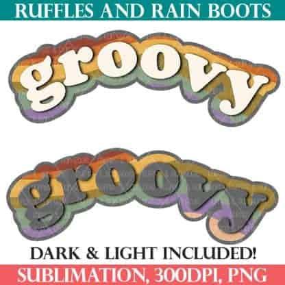 retro groovy sublimations seventies vintage