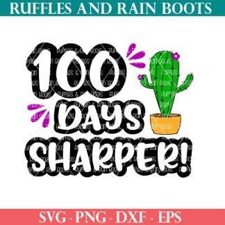 100 Days Sharper Cactus sublimation file