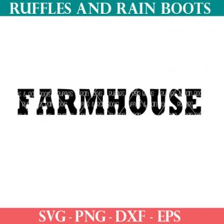farmhouse cut file set for cutting machines
