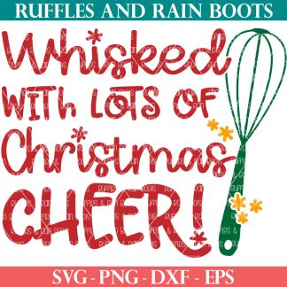 Whisked with Christmas Cheer SVG
