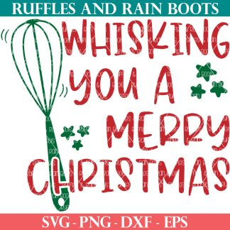 Whisking You A Merry Christmas svg