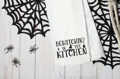 halloween witch cut file set for cricut or silhouette bewtichin in the kitchen halloween svg