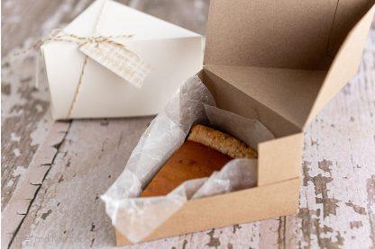 pie slice gift box cut file set foro cricut or silhouette